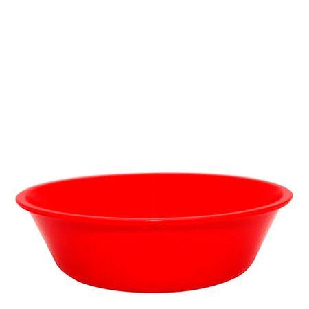 Bowl Basic 2L Vermelho em Polipropileno Linha Tropical Vemplast Frente
