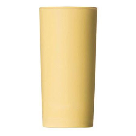 Copo Long Drink 300ml Amarelo Claro em Polipropileno Linha Tendência Vemplast