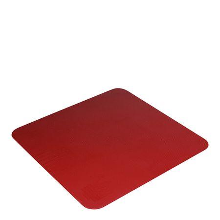 Tapete de Silicone Culinário Quadrado 34x34 Vermelho em Silicone Linha Prepare Vemplast