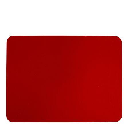Tapete de Silicone Culinário Quadrado 33x40 Vermelho em Silicone Linha Prepare Vemplast