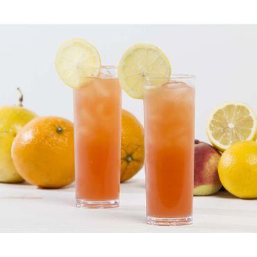 Copo-Long-Drink-Slim-300ml-Coral-em-Polipropileno-Linha-Tendencia-Vemplast-Ambientada